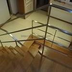 Corrimão escada interiores