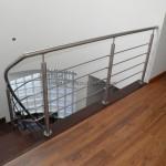 Corrimão Escada em caracol